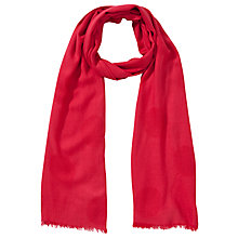 Buy John Lewis Spot Basket Weave Rectangular Scarf Online at johnlewis.com