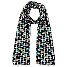 Buy John Lewis Polar Bear Print Rectangular Scarf, Multi Online at johnlewis.com