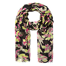 Buy Somerset by Alice Temperley Winter Floral Print Scarf, Multi Online at johnlewis.com