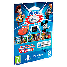 Buy Disney Mega Pack with 8GB Memory Card, PS Vita Online at johnlewis.com