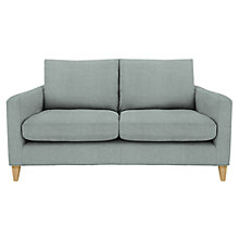 Buy John Lewis Bailey Medium Loose Cover Sofa, Newlyn Dark Eau de Nil Online at johnlewis.com