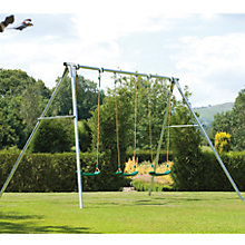Buy TP Toys Triple Giant Swing with Deluxe Swing Seats Online at johnlewis.com