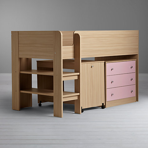 Buy little home at John Lewis Corey Mid Sleeper Online at johnlewis.com