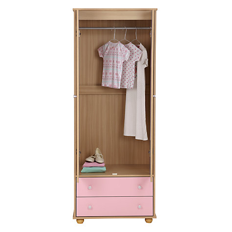 Buy little home at John Lewis Corey 2 Door Wardrobe Online at johnlewis.com
