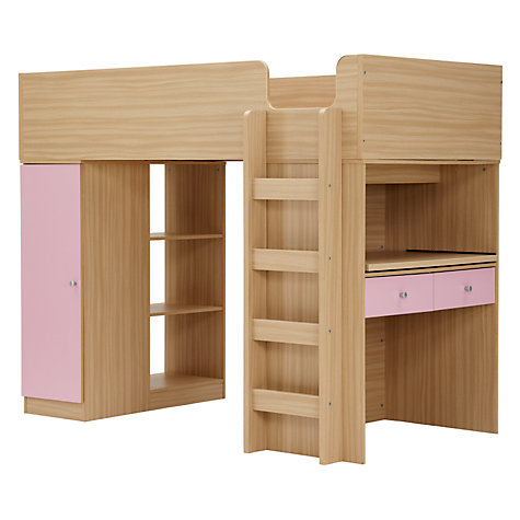 Buy little home at John Lewis Corey High Sleeper Online at johnlewis.com