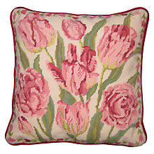 Buy Sew Trade Cream China Tulips Tapestry Kit Online at johnlewis.com