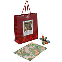 Buy Jolly Red Jumpin' Jack Cats Tapestry Kit Online at johnlewis.com
