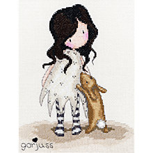 Buy Gorjuss Little Rabbit Cross Stitch Kit Online at johnlewis.com