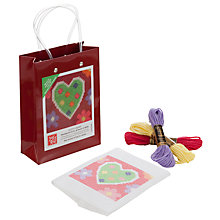 Buy Jolly Red Dotty Heart Tapestry Kit Online at johnlewis.com