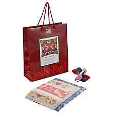Buy Jolly Red Arts & Craft Tiles Tapestry Kit Online at johnlewis.com