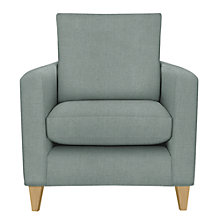 Buy John Lewis Bailey Loose Cover Armchair, Newlyn Dark Eau de Nil Online at johnlewis.com