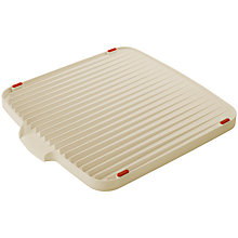 Buy Joseph Joseph Flip Board Dish Drainer, Red / Grey Online at johnlewis.com