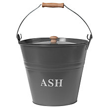 Buy Garden Trading Ash Bucket, Charcoal Online at johnlewis.com