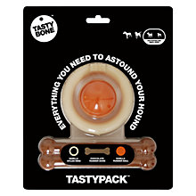 Buy TastyBone Tasty Pack Dog Toy, 3 Piece Online at johnlewis.com