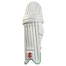 Buy Gray-Nicolls Powerbow Gen X 500 Right-Handed Batting Leg Guards, White Online at johnlewis.com