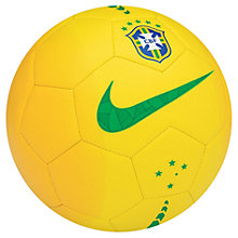 Buy Nike Brazil Prestige Football, Size 5 Online at johnlewis.com
