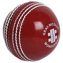 Buy Gray-Nicolls Wonderball Cricket Ball, Red Online at johnlewis.com