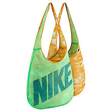 Buy Nike Graphic Reversible Tote Bag, Dark Green Online at johnlewis.com