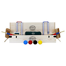 Buy Jaques Cavendish Croquet Set Online at johnlewis.com