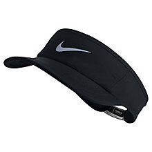 Buy Nike Featherlight 2.0 Adjustable Tennis Visor Online at johnlewis.com