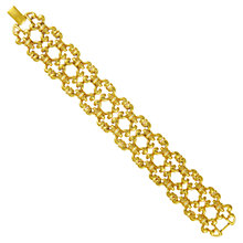 Buy Eclectica 1980s Monet Gold Plated Bracelet Online at johnlewis.com