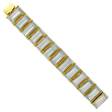 Buy Eclectica 1950s Lucite Articulated Bracelet, Grey / Gold Online at johnlewis.com