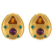 Buy Eclectica 1980s Napier Gold Plated Clip-On Earrings Online at johnlewis.com