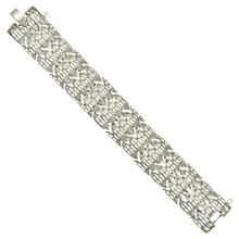Buy Eclectica 1960s Trifari Link Bracelet, Chrome Online at johnlewis.com