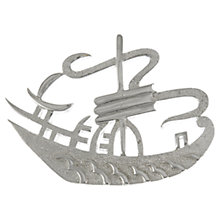 Buy Eclectica 1960s Trifari Chrome Plated Boat Brooch Online at johnlewis.com