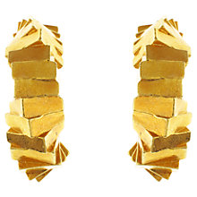 Buy Eclectica 1960s Escada Gold Plated Hoop Clip-On Earrings Online at johnlewis.com