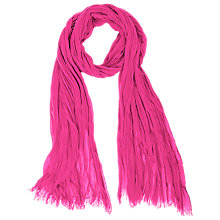 Buy Betty Barclay Crinkle Scarf, Pink Online at johnlewis.com