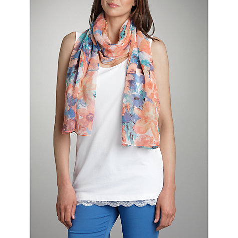 Buy Betty Barclay Floral Print Scarf, Multi Online at johnlewis.com
