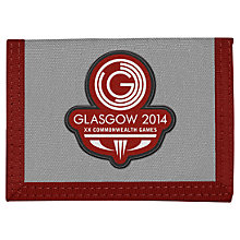 Buy Glasgow 2014 Commonwealth Games Logo Wallet, Grey Online at johnlewis.com