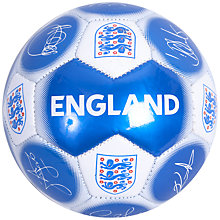 Buy Official England Signature Football, Size 5 Online at johnlewis.com