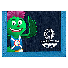 Buy Glasgow 2014 Commonwealth Games Clyde Wallet, Blue Online at johnlewis.com