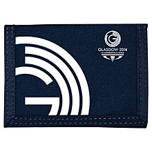 Buy Glasgow 2014 Commonwealth Games Logo Velcro Wallet Online at johnlewis.com