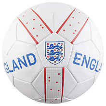 Buy Official England Football Fusion Ball, Size 5 Online at johnlewis.com