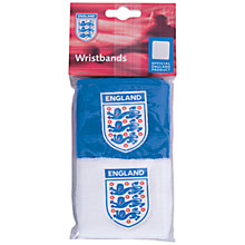 Buy Official England Football Wristbands, Blue/White Online at johnlewis.com
