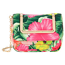 Buy Ted Baker Florei Clutch Handbag, Sunflower Online at johnlewis.com