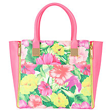 Buy Ted Baker Lari Shopper Handbag, Sunflower Online at johnlewis.com