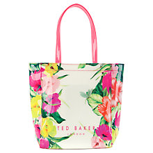 Buy Ted Baker Trocon Small Shopper Handbag, Cream Online at johnlewis.com