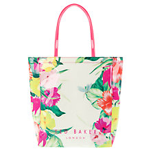 Buy Ted Baker Filicon Shopper Handbag, Cream Online at johnlewis.com