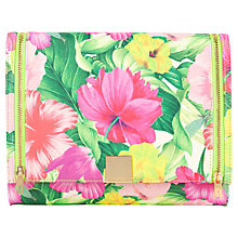 Buy Ted Baker Macia Printed Tech Clutch Handbag, Sunflower Online at johnlewis.com