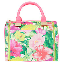 Buy Ted Baker Furne Bowler Handbag, Sunflower Online at johnlewis.com