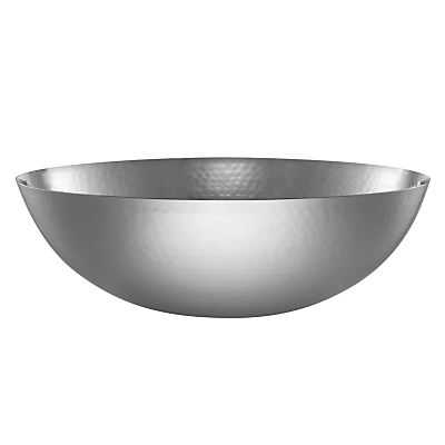 John Lewis Hammered Bowl