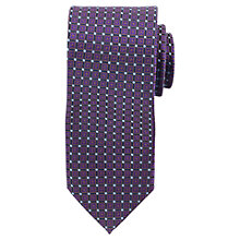Buy Daniel Hechter Geometric Square Tie Online at johnlewis.com