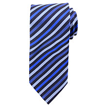 Buy Daniel Hechter Bold Two Tone Stripe Tie Online at johnlewis.com
