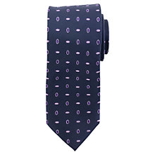 Buy Daniel Hechter Oval Dot Silk Tie Online at johnlewis.com