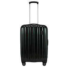 Buy John Lewis Monaco II 4-Wheel Medium Suitcase, Dark Green Online at johnlewis.com