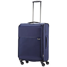 Buy Samsonite Short-Lite 4-Wheel 55cm Cabin Suitcase, Blue Online at johnlewis.com
